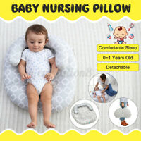 Baby Side Sleep Pillow Support Adjustable Newborn Infant Anti-roll Cushion NEW