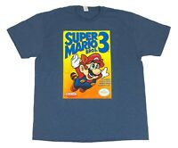 Super Mario World Super Mario Bros 3 Cover Poster Nintendo Mens T Shirt
