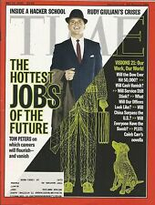 MAY 22, 2000 TIME MAGAZINE HOTTEST JOBS OF THE FUTURE CAREERS WORK US ECONOMY