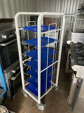 More details for cravan commercial catering trolly, food tray trolly with trays.