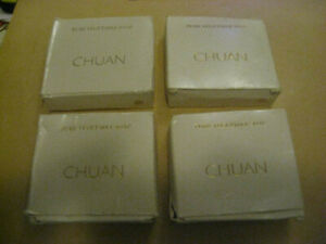 4 x Chuan Pure Vegetable Soaps