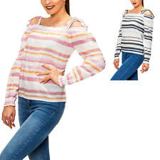 Vero Moda Damen Off Shoulder Bluse Blusenshirt Tunika Leinenbluse Carmenshirt %