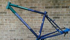 "NOS 90s Mongoose Crossway 450 16"" CX Commuter Hybrid Frame Tange 4130 Main 700c"