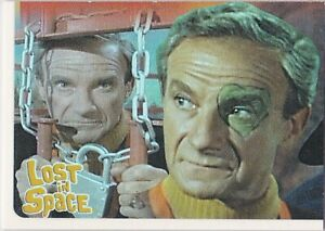 THE COMPLETE LOST IN SPACE FACES OF DOCTOR SMITH INSERT SINGLE F7