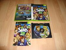 LOS SIMS 2 DE EA GAMES PARA LA PRIMERA XBOX USADO COMPLETO