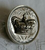 Antique Victorian CROWN Diamond Jubilee Royal Memorabilia Pin Brooch