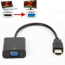 1080P HDMI maschio a VGA Adattatore Convertitore Video Donna CAVO PER PC DVD HDTV TV