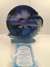 """1999 The Hamilton Collection Plate """"Journey Home"""" Serenity At Sea Collection"""