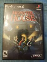 Monster House (Sony PlayStation 2, 2006) PS2 NO MANUAL TESTED FREE S/H THQ