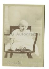 19th Century Infant - Cabinet Card Photograph - Somersworth, New Hampshire