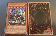 YuGiOh - Theinen The Great Sphinx EP1-EN001 - Ultra Rare worn