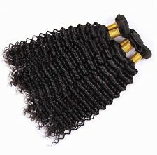 3 Bundles Brazilian Curly Hair Human Hair Extensions Weave 14,16,18