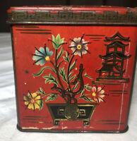 Baret Ware  English Tea Tin Vintage