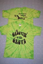 (2) Citrus Grove Elementary Groovin' at the Grove Tie Dye T Shirts Child Sz M