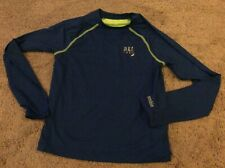 BNWT New Abercrombie & Fitch Girl's Long Sleeve T-Shirt - Large - Blue & Green