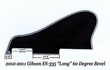 Gibson ES-335 LONG 2010-2011 Pickguard 5-Ply Black W/Mount Guitar Project NEW