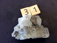 Calcite Crystal Linwood Mine Iowa 60x40x40mm B054-31 Healing Crystal Awareness