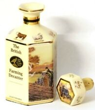 Farming Tractor Pointers Miniature Whisky Decanter