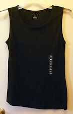 NEW!! Land's End. Black sleeveless pullover top size XS