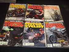1983 MOTOR CYCLIST MAGAZINE LOT OF 12 ISSUES - GREAT BIKES NICE COVERS - M 246