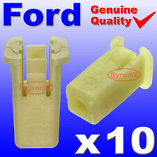 FORD FIESTA ST150 FRONT BUMPER PLASTIC CLIPS GROMMET EXPANDING NUT X10
