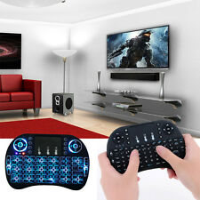 2.4G Wireless Backlit Keyboard Air Mouse Touchpad For Android TV BOX PC XBOX 360