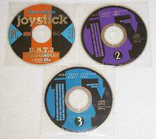 3 CD de Démo JOYSTICK Avril 1996 B.A.T.2 jeu Complet sur PC