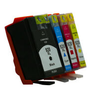 4x Ink Cartridges Compatible For HP920 920XL Officejet 6500A 7000 7500 7500A