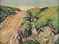 Paul BÜRCK 1878 - 1947 - Landschaft mit Feldweg