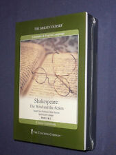 Teaching Co Great Courses DVDs        SHAKESPEARE  WORD and ACTION    new sealed