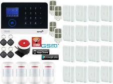 U63 WIFI Internet APP GSM GPRS RFID Wireless Home Security Alarm Burglar System