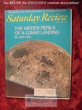 Saturday Review June 7 1969 LUNAR LANDING ARCHIBALD MACLEISH WOLF VON ECKARDT