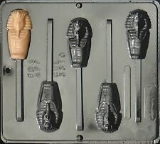 Egyptian Mummy Lollipop Chocolate Candy Mold  3310 NEW