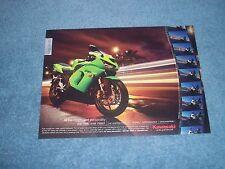 """2005 Kawasaki Ninja ZX-6R Street Bike Ad """"All the Charm & Personality...."""""""