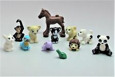 NEW LEGO Lot 12 Animal Minifigure Foal Horse Dog Cat Bunny Panda Lion Friends