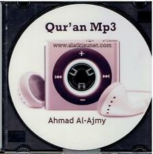 Quran Audio MP3 CD 114 suras by Sheikh Ahmad Al Ajmi