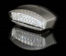 Motorrad LED Rücklicht MONSTER transparent E-geprüft
