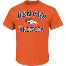 Denver Broncos NFL Men's Heart and Soul T-Shirt (Medium) NWT