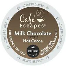 Café Escapes K-Cup Portion Hot Cocoa for Keurig Brewers - Milk Chocolate, 48 Ct