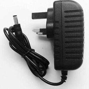 12V/2A AC/DC Adapter Charger Power Supply For CCTV DVR Camera LED Strip UK Plug