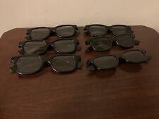 Lot Of 6 3D Glasses