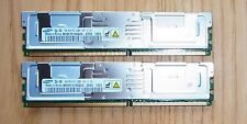 Fujitsu Server RAM 8 GB 2x 4 GB PC2-5300F FB-DIMM M395T5160QZ4-CE66 RX300 S3 S4