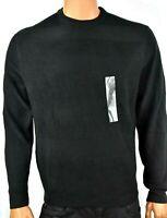 Weatherproof Vintage Mens Sweater New XL Black Long Sleeves Crew neck Pullover