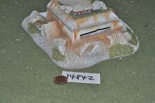 25 mm bunker Scenery terrain (comme photo) (14842)