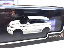 Range Rover Evoque Onyx 2012 1:43 IXO MODEL CAR LIMITED EDITION-PRD273