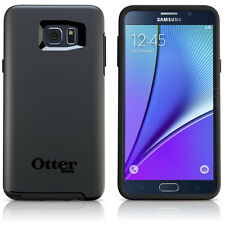 OtterBox Symmetry Case for Galaxy Note5 Black Cover OEM New Original