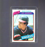 1980 Topps Rod Carew #700  California Los Angeles Angels Baseball Card