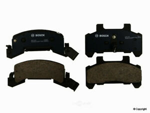 Disc Brake Pad Set-Bosch QuietCast Front WD Express 520 02890 462