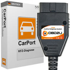 USB OBD 2 CPDS Diagnose Gerät CarPort PRO CAN SOFTWARE für VW Seat Skoda