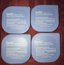 4X Belif Aqua bomb sleeping mask  .33oz/10ml Each= 1.32oz